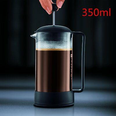 350ML Bodum Coffee Maker French Press System Permanent Stainless Steel  Filter