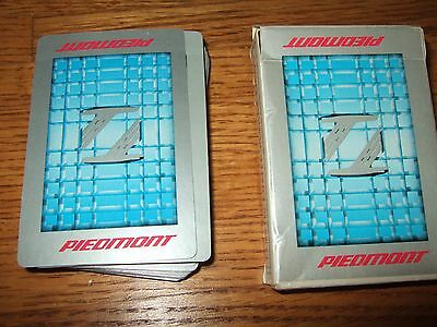 vintage deck piedmont airlines? Playing Cards w/ box stardust made in usa jokers