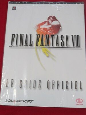 Guide Final Fantasy Viii 8 Playstation 1 Ps1 Psone Psp Ps3 Neuf