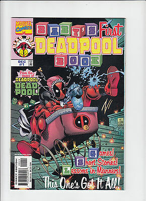 Baby's First Deadpool Book #1 1998 NM