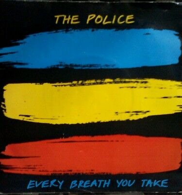 """The Police - Every Breath You Take 7"""" Uk 1983 Orig First Press Vg/vg Punk"""