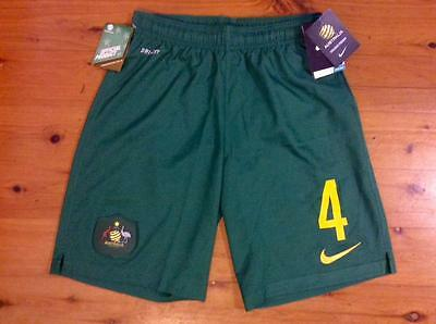 Australia Socceroos 2014 Fifa World Cup Nike Official Home Shorts 2Xl Xxl