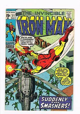 Iron Man # 31  Suddenly...the Smashers !  grade 8.5 scarce hot book !!