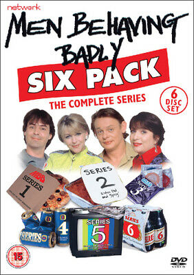 Men Behaving Badly: The Complete Series DVD (2016) Martin Clunes ***NEW***