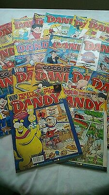 17 DANDY COMICS DATING FROM THE 00's