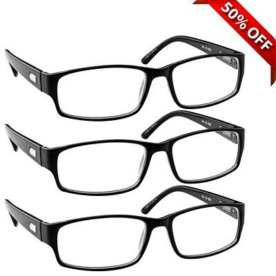 NEW Reading Glasses | Best Readers 3 Pack for Men and Women | 180 Day Guarantee