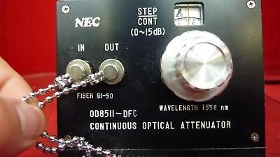 NEC OD-8511-DFC Continuous Optical Attenuator