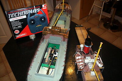 MODEL BOAT  A Smooth scale Passenger/Cargo Ship Complete with all Radio