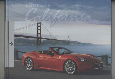 2008 2009 Ferrari California T Prestige Hardcover Book Brochure ww4162