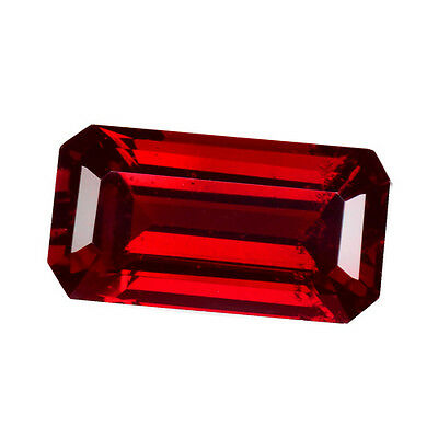 1.320Cts Wonderful Top Luster Red Natural Pyrope / Almandite Garnet Octagon