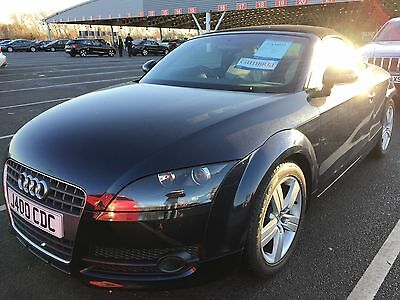 2007 Audi Tt Tfsi Cabriolet, Cream Leather, Alloys,climate,cd,history Low Miles!