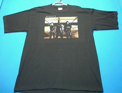Vintage BEE GEES Concert Tour Band shirt TShirt THIS IS WHERE I CAME IN Disco XL