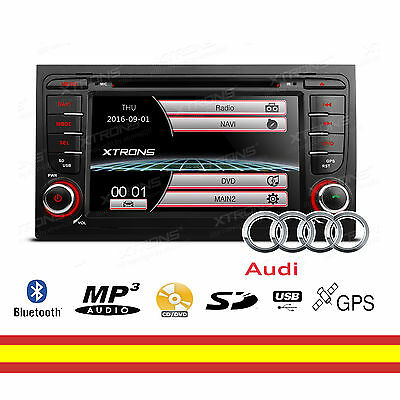 "Autorradio GPS para Audi A4 S4 RS4 7"" Bluetooth Mirroring Soporta 3G + Canbus"