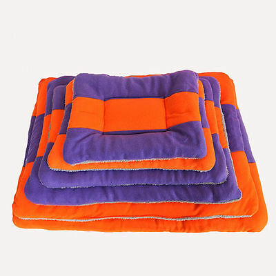 Soft Warm Fleece Pet Dog Doghole House Bed Puppy Mat Sofa Kennel Cushion Cat Bed
