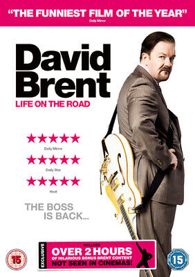 David Brent - Life On the Road DVD (2016) Ricky Gervais cert 15 ***NEW***