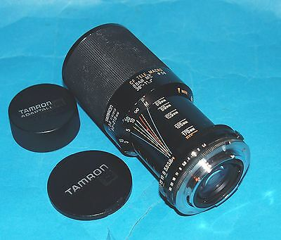 TAMRON 80-210mm F4 MACRO ZOOM LENS FOR PENTAX PK NOT! AF.