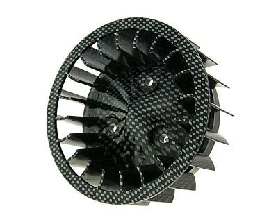 Fan carbon chrome - Adly (Her Chee) Air Tec 50