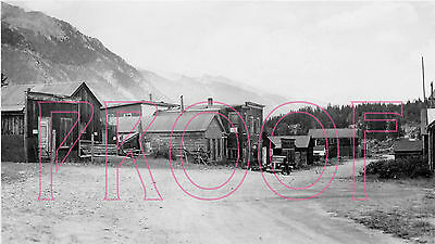 Colorado & Southern (C&S) View of St. Elmo, CO in 1933 - 8x10 Photo
