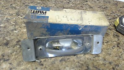Chrysler Plymouth Dodge 1965-1969  NOS Mopar  2483296 License Lamp Assembly