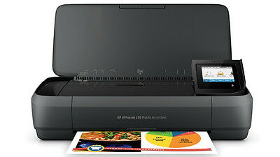 HP Officejet 250 Mobiler All-in-One Tintenstrahl-Multifunktionsdrucker Farbig