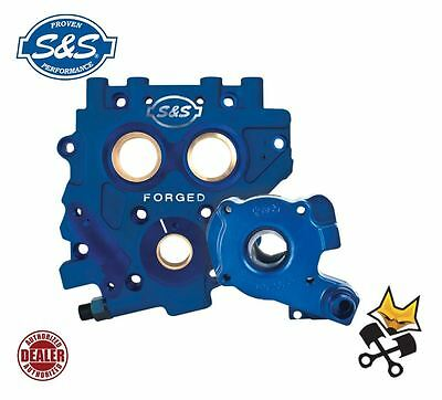 S&s Tc3 Billet Oil Pump & Cam Plate Kit Harley 07-Up Twin Cam & 06 Dyna 310-0732
