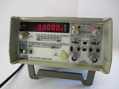Fluke 7261A Universal Counter/Timer 2 Channel Option 72XX-010