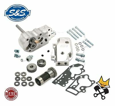 S&s Complete Oil Pump Kit Harley 92-99 Evo  With Breather Gear & Shims 31-6296