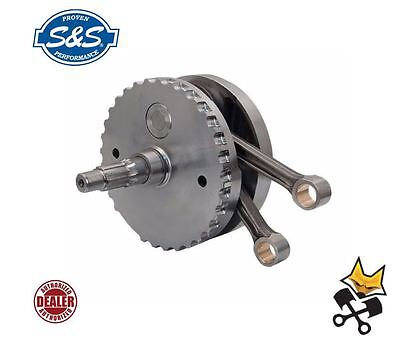 "S&s 4-5/8"" Stroke 124"" 3-Pc Flywheel Assembly Harley 1999-06 Twin Cams 320-0469"