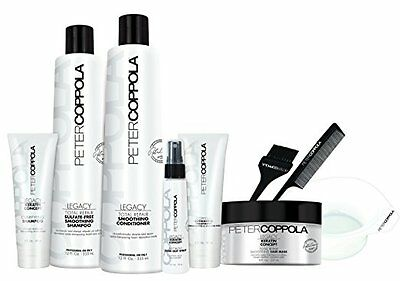 PETER COPPOLA Coppola Keratin Smoothing Treatment Kit with Aftercare