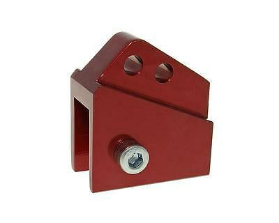 Riser kit CNC 2 hole red - PEUGEOT Buxy 50 Year to 98th