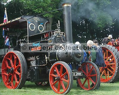 """Traction Steam Engine  (Dougal)  Photo  6""""  x  4"""""""