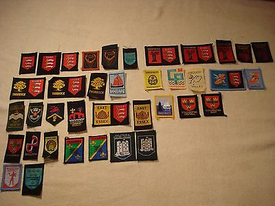 Essex County and District Scout Badge Collection