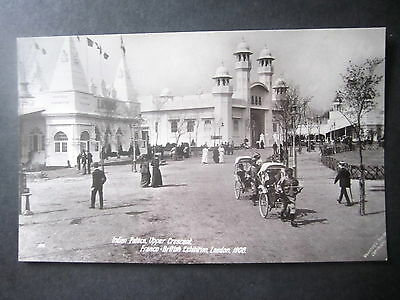 Franco-British Exhibition, 1908. Indian Palace, Upper Crescent. RP. Unposted.