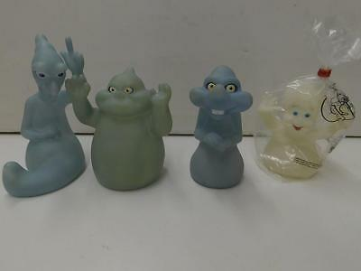 Complete Set Of 4 Pizza Hut 1995 Casper The Friendly Ghost Hand Puppets 23948