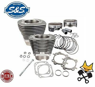 S&s 117″ Dish Big Bore Cylinder & Piston Kit Harley 2007-Up Twin Cam 910-0318