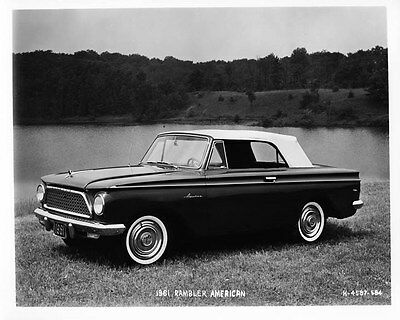 1961 AMC Rambler American ORIGINAL Factory Photo oad7908