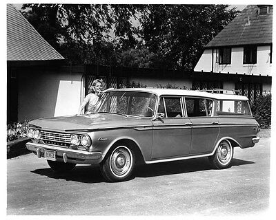1962 AMC Rambler Classic Station Wagon ORIGINAL Factory Photo oad7919-D5J2CJ