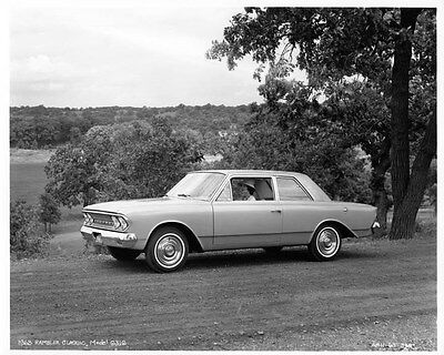 1963 AMC Rambler Classic ORIGINAL Factory Photo oad7952-MJSXHX