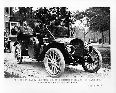 1909 Rambler ORIGINAL Factory Photo President Taft oad8088-C62IEQ