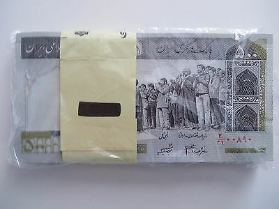 50 x 500  IRAN Rials, banknotes, Uncirculated Currency Central Bank