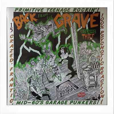 VA. BACK FROM THE GRAVE VOL. 3 (LP) RARE MID 60s GARAGE PUNKERS ♪♪HEAR♪♪