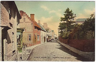 Postcard King's  Arms Street North Walsham Norfolk Unposted