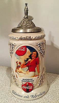 Collectible Coca-Cola Early Illustrators Stein Series~First In Series 1999 ~ Nib