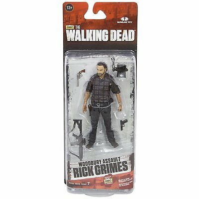 WOODBURY ASSAULT RICK GRIMES The Walking Dead (TV) Series 7 McFarlane Toys 13cm