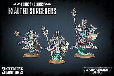 Warhammer 40,000 Chaos Space Marine Thousand Sons Exalted Sorcerers