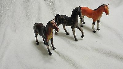 Vintage Imperial toy horses-lot of (3)~1975