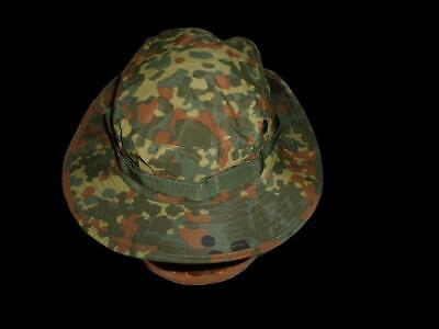 db4aaa3e662 NEW GERMAN FLECKTARN Camouflage Trilam Boonie Hat Size X- Large ...