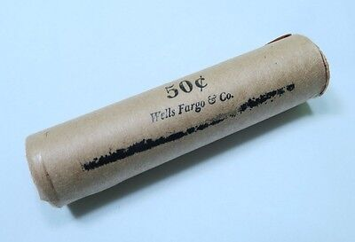 (1) Premium - Wells Fargo & Co. Stamped Wheat Penny Roll - Early Dates!
