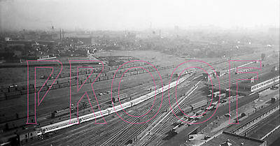 New York Central (NYC) Buffalo Train Yards (View 1) - 8x10 Photo