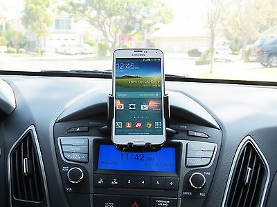 CD Slot Car Stereo Smart Phone Holder Mount for Apple iPhone 6 - iPhone 6 Plus